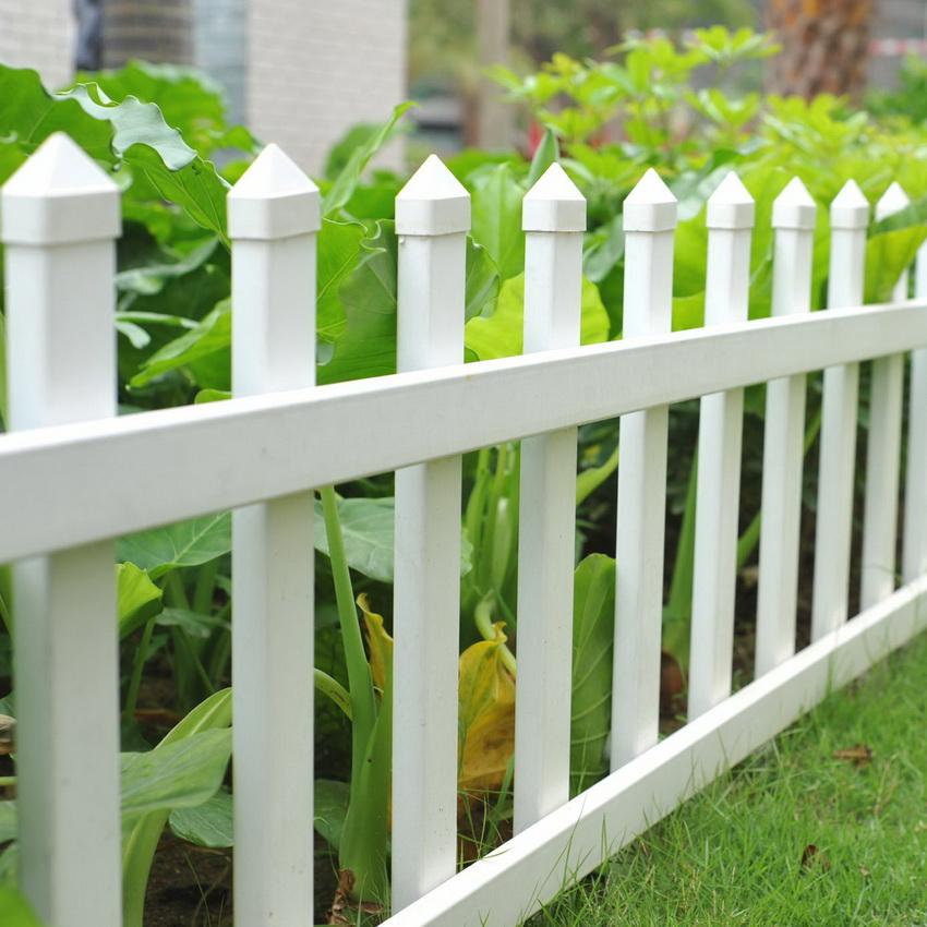Декоративный забор для дачи: креативное оформление клумб и площадок