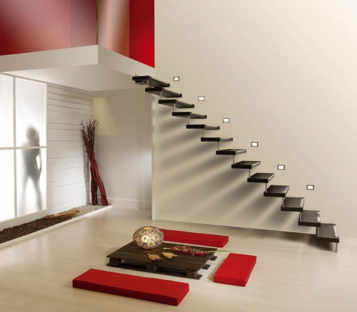 Дизайн лестницы в доме: фото, идеи