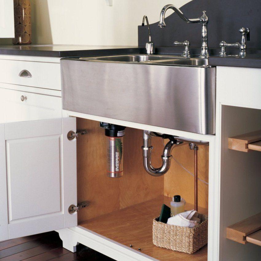 Проточный фильтр для очистки питьевой воды
