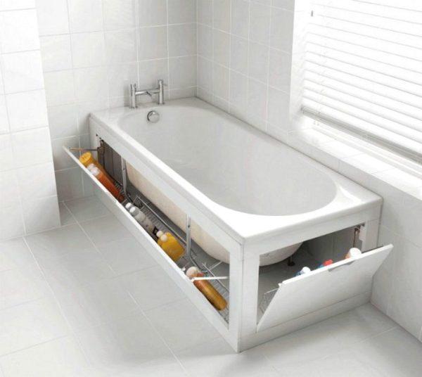Идеи создания красивого экрана ванной