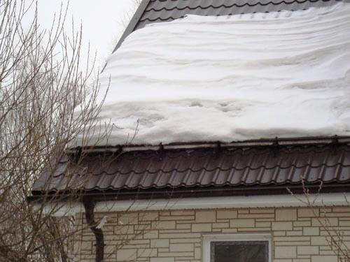 Изготовление и установка снегозадержателей