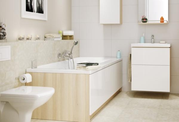 Как красиво закрыть цоколь под ванной
