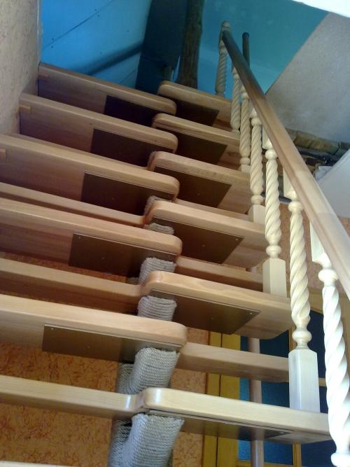 Как сделать металлический каркас лестницы своими руками