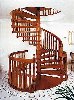 Как выбрать винтовую лестницу