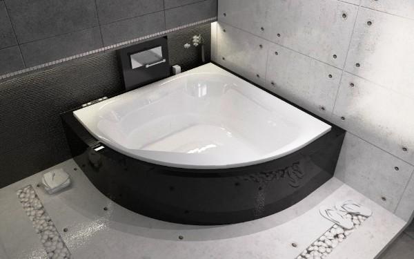 Как вместить ванну в маленький санузел