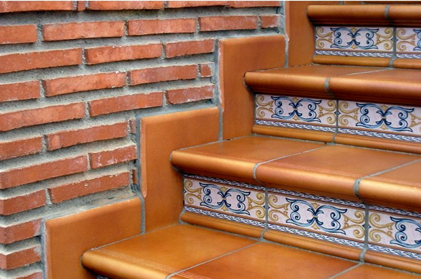 Клинкерная плитка для ступеней: грамотный выбор а