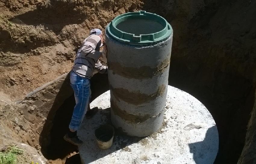 Кольца бетонные для канализации: размеры, цены и применение изделий