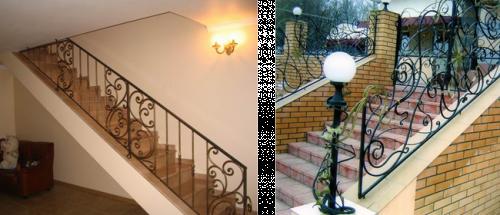 Кованая лестница своими руками