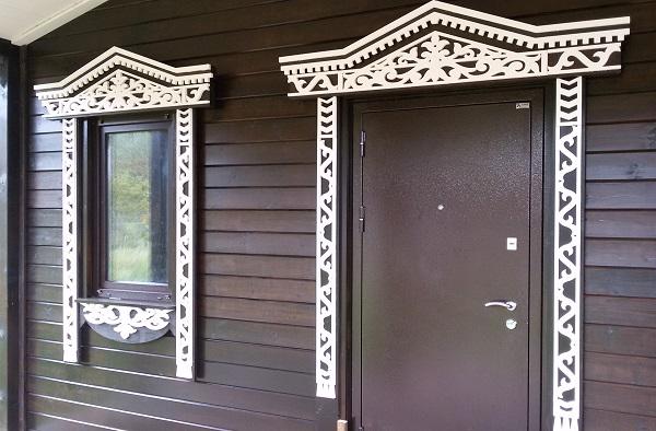 Красивые идеи для оформления дверных наличников