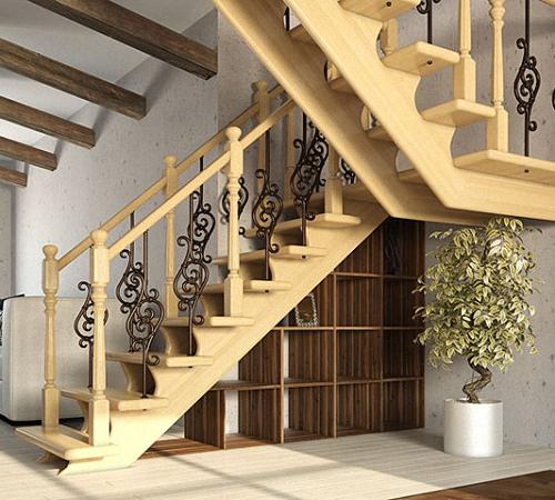 Лестница на даче своими руками