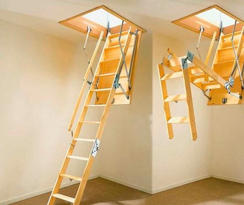 Металлическая приставная лестница своими руками