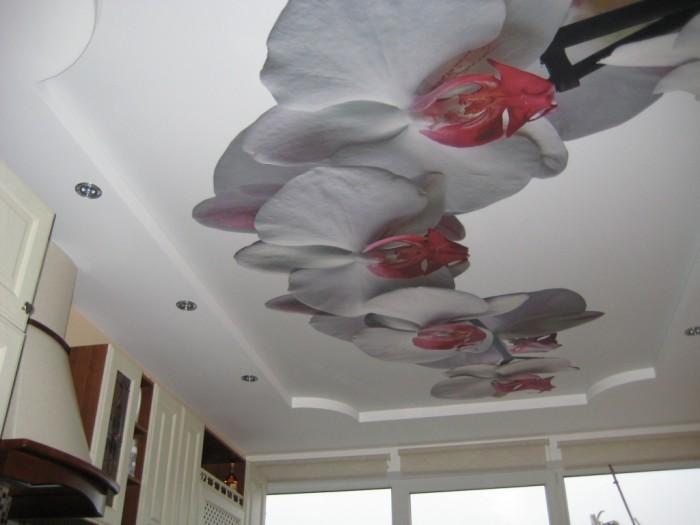 Монтаж трехмерных натяжных потолков самостоятельно