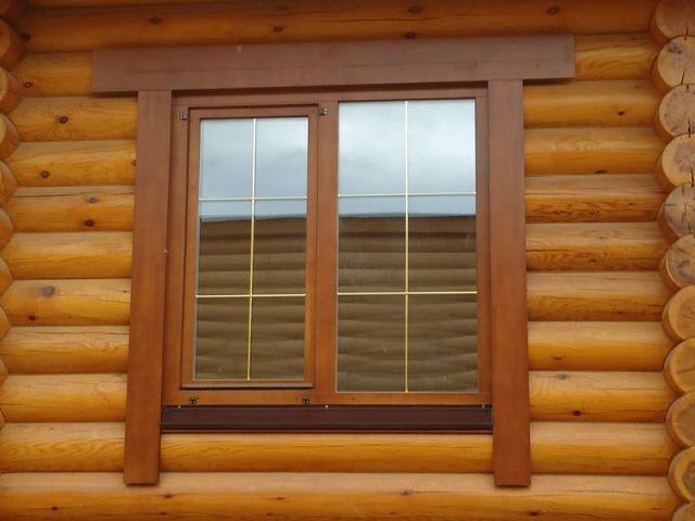 Наличники на пластиковые окна