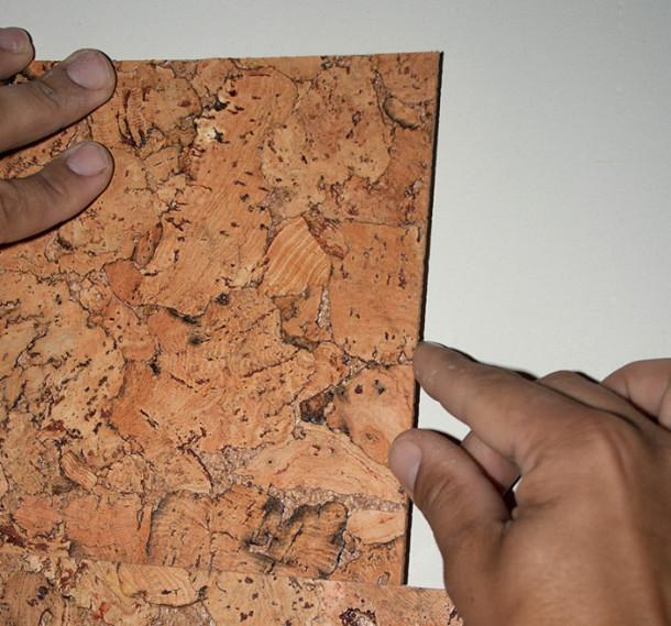Отделка стен пробковым покрытием своими руками