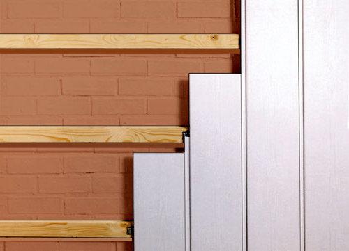 Отделка стен в квартире МДФ панелями