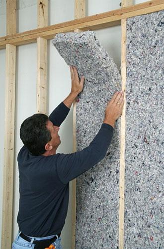 Порядок выполнения работ по звукоизоляции стен