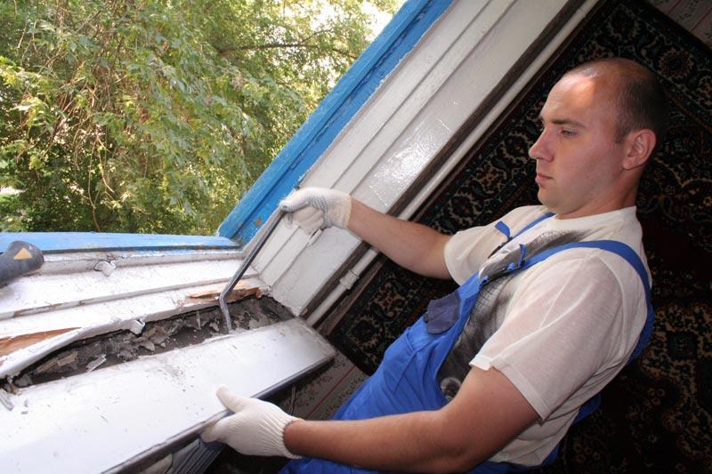 Пошаговая техника установки пластиковых окон