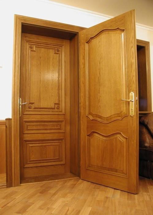 Пошаговая техника установки входной деревянной двери