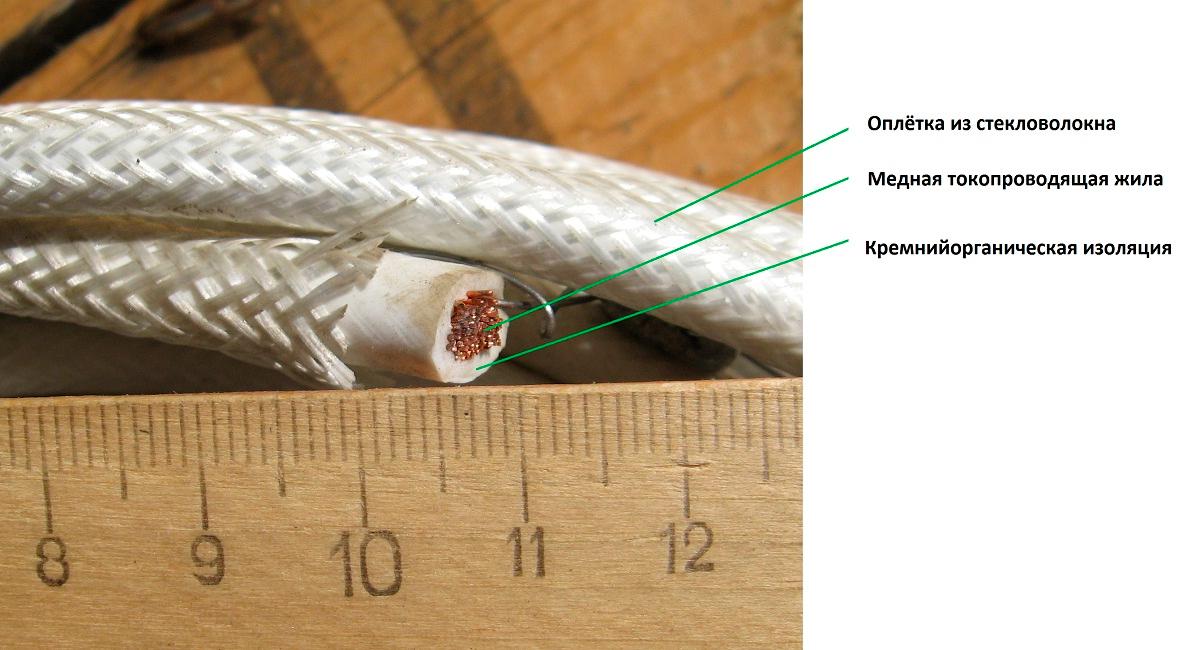 РКГМ – эксплуатационно-технические отличия термостойкого провода