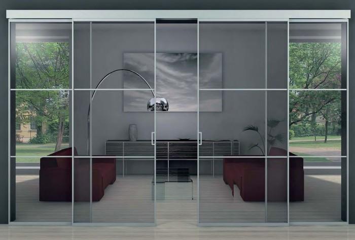 Самостоятельная установка и разновидности стеклянных дверей