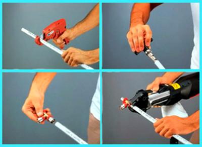 Самостоятельный монтаж металлопластиковых труб