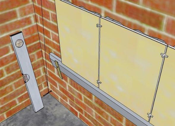 Технология укладки керамической плитки на стену