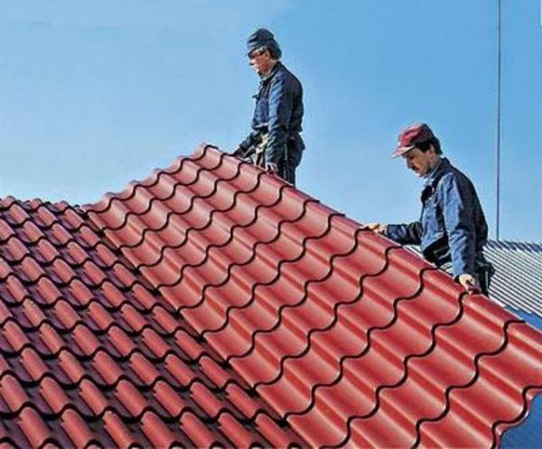 Технология укладки крыши из профлиста своими руками