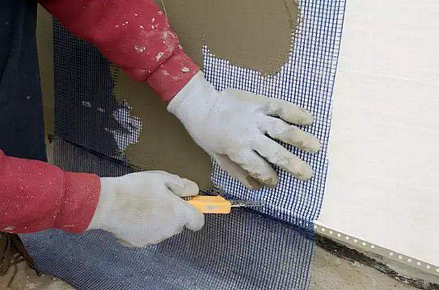 Технология утепления мокрый фасад