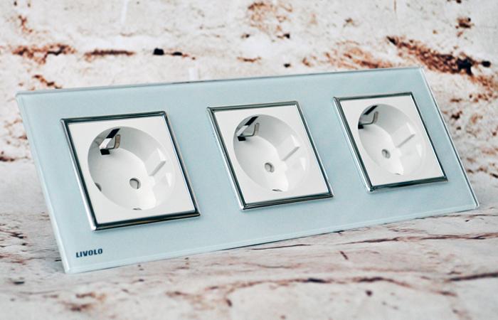 Тройная розетка: повышение комфорта и улучшение дизайна