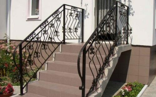 Уличная лестница своими руками