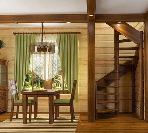 Установка деревянных лестниц своими руками