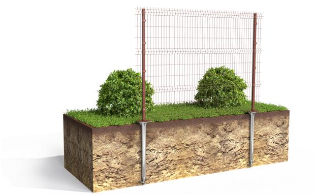 Устройство фундамента под забор и его разновидности