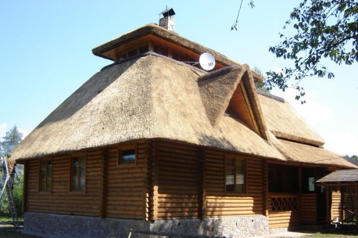 Устройство крыши из камыша своими руками