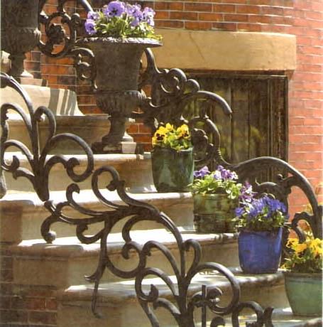Входная лестница своими руками