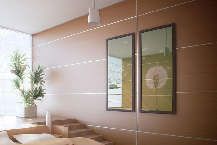 Виды поливинилхлоридных панелей и техника их монтажа на стены
