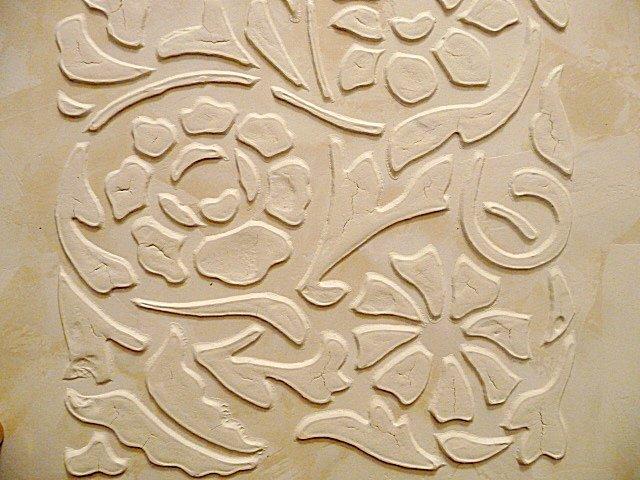 Выполнение барельефа на стене своими руками