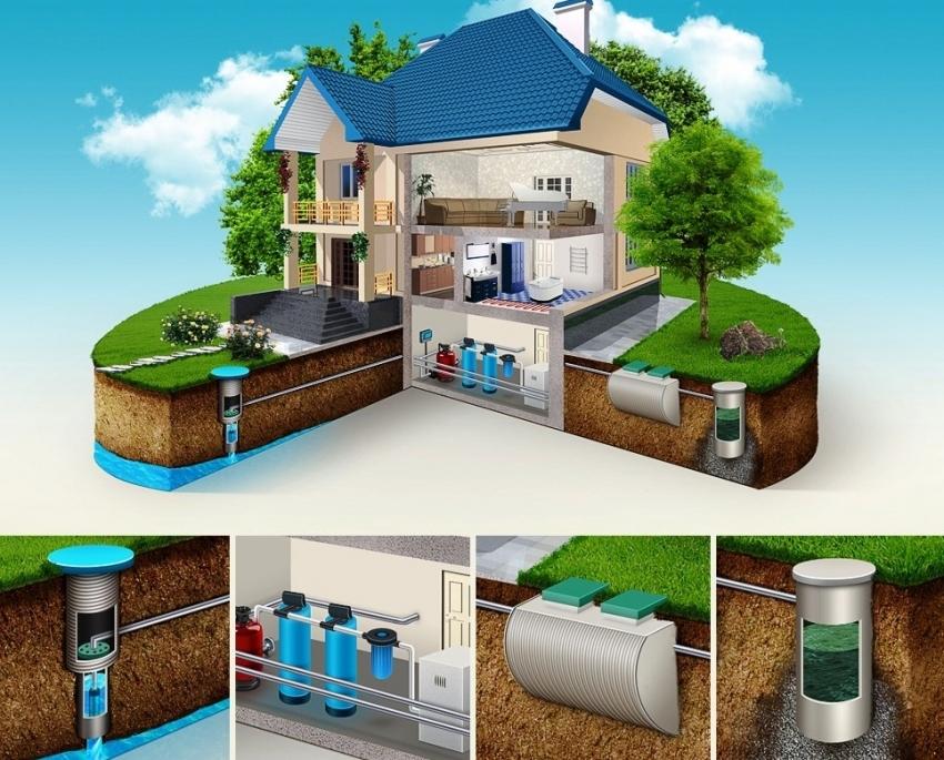 Монтаж канализационной и водопроводной систем требует тщательных расчетов и разрешений от коммунальных служб