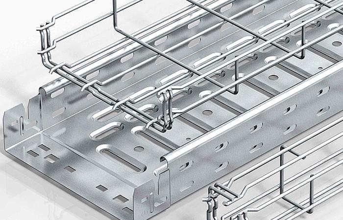 Защитить открытую проводку поможет лоток для кабеля