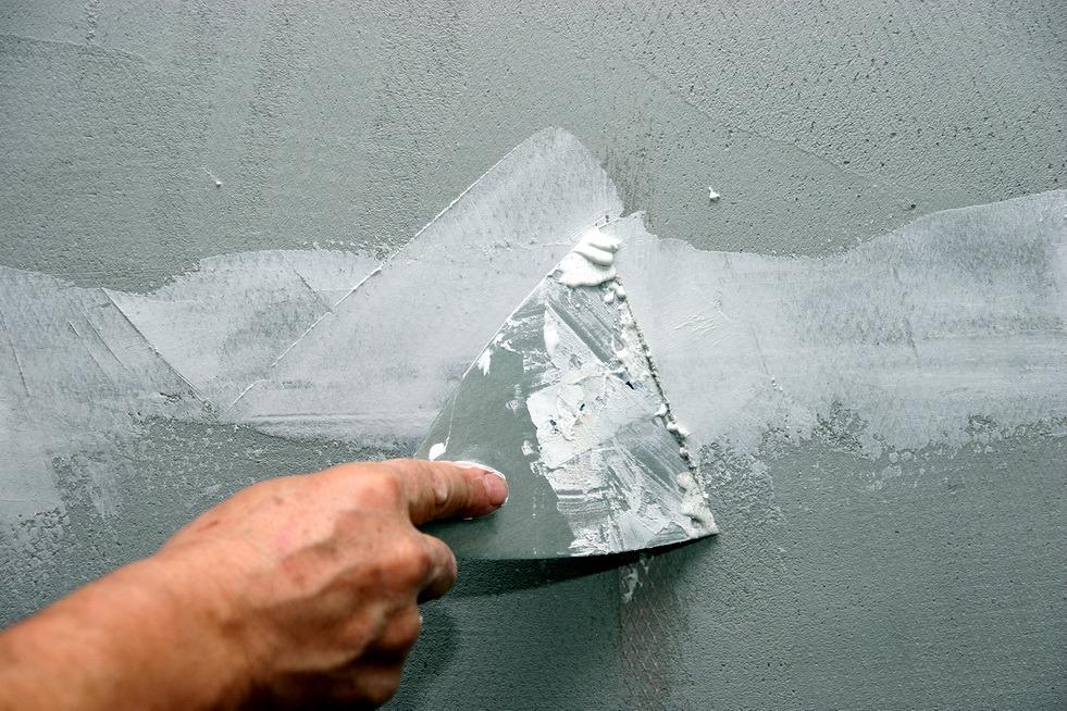 Шпаклевка поверхности