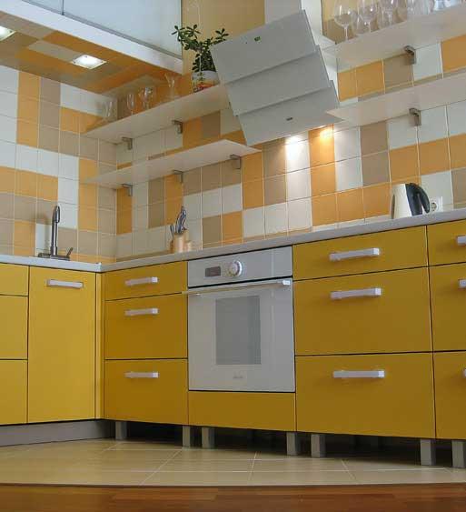 Варианты для отделки кухни