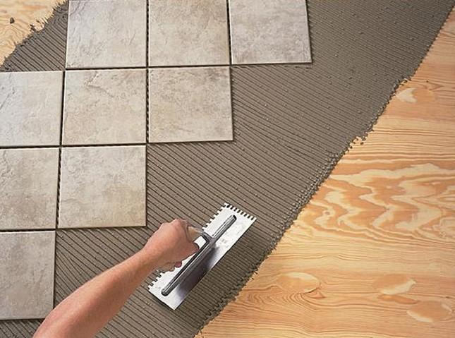 Способы укладки плитки на различные материалы своими руками